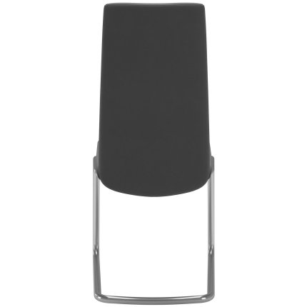 Scaun Stressless Rosemary D400 M cu spatar inalt, cadru metalic crom, tapiterie Grace Light Grey