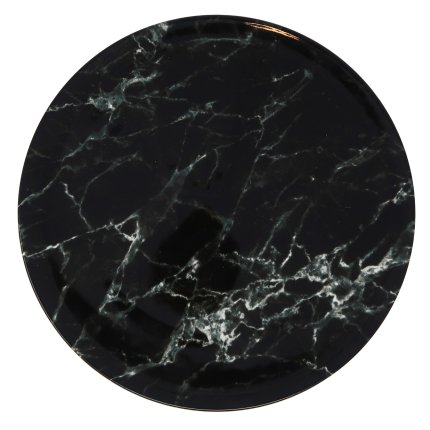 Farfurie plata Villeroy & Boch Marmory Black 27cm