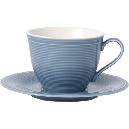 Ceasca si farfuriuta cafea like. By Villeroy & Boch Color Loop Horizon 0.25 litri