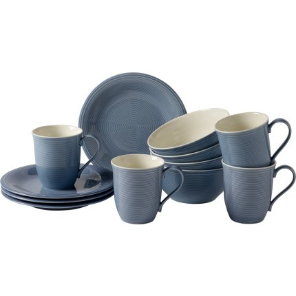 Set servire like. By Villeroy & Boch Color Loop Horizon Breakfast 12 piese
