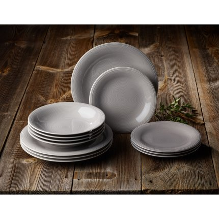 Set servire like. By Villeroy & Boch Color Loop Stone Starter 12 piese