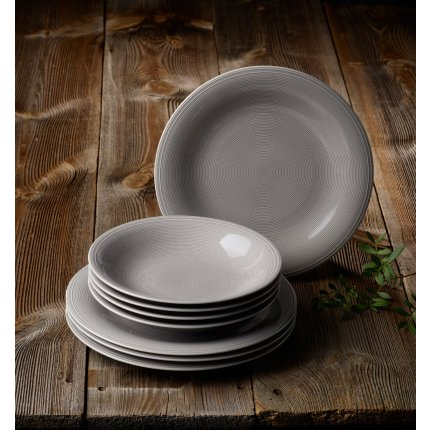 Set servire like. By Villeroy & Boch Color Loop Stone Dinner 8 piese