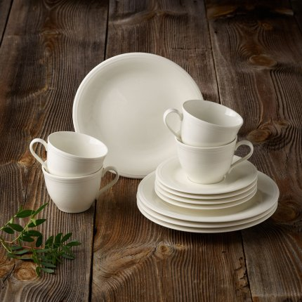 Set servire like. By Villeroy & Boch Color Loop Natural Coffee 12 piese