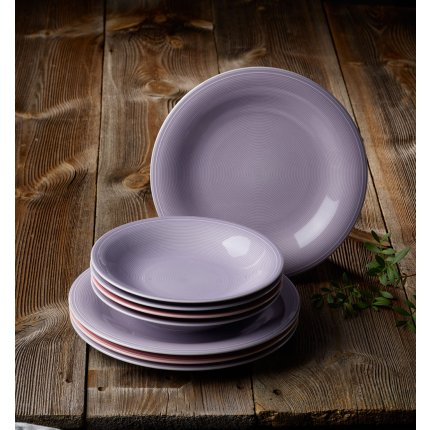 Set servire like. By Villeroy & Boch Color Loop Blueblossom Dinner 8 piese