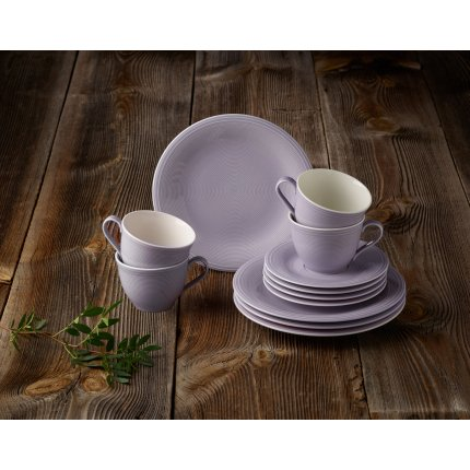 Set servire like. By Villeroy & Boch Color Loop Blueblossom Coffee 12 piese