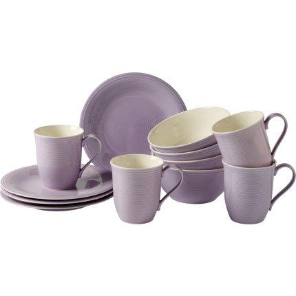 Set servire like. By Villeroy & Boch Color Loop Blueblossom Breakfast 12 piese
