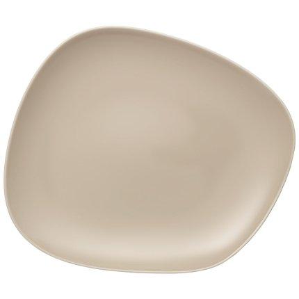Farfurie plata like. by Villeroy & Boch Organic Sand 28x24cm