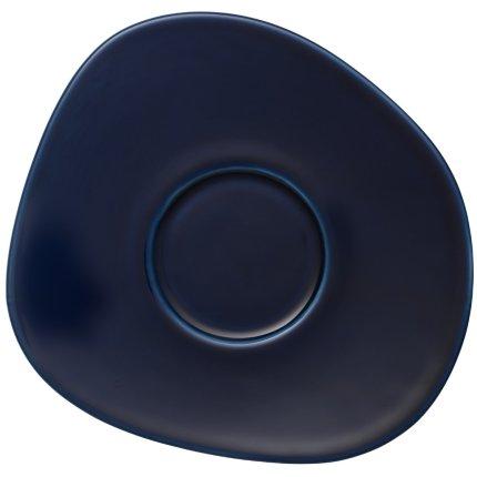 Ceasca si farfuriuta cafea like. By Villeroy & Boch Organic Dark Blue 0.27 litri