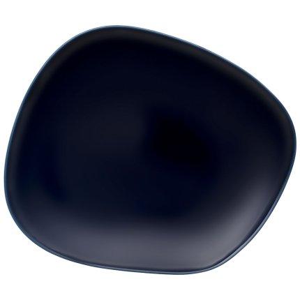 Farfurie plata like. by Villeroy & Boch Organic Dark Blue 28x24cm