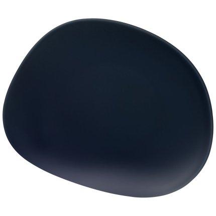 Farfurie like. by Villeroy & Boch Organic Dark Blue Salad 21x17cm
