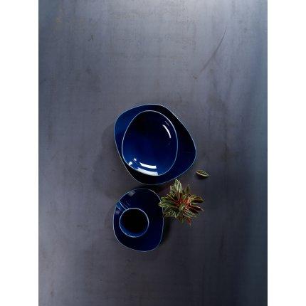 Farfurie adanca like. by Villeroy & Boch Organic Dark Blue 20x18cm