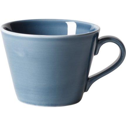 Ceasca si farfuriuta cafea like. By Villeroy & Boch Organic Turquoise 0.27 litri