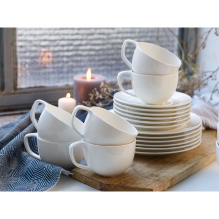 Set servire like. by Villeroy & Boch NEO White Coffee 18 piese