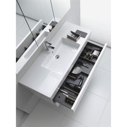 Dulap baza Duravit Delos 50x42.6cm, 2 sertare cu inchidere lenta, alb lucios