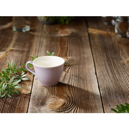 Ceasca si farfuriuta cafea like. By Villeroy & Boch Color Loop Blueblossom 0.25 litri