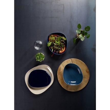 Farfurie adanca like. by Villeroy & Boch Organic Turquoise 20x18cm