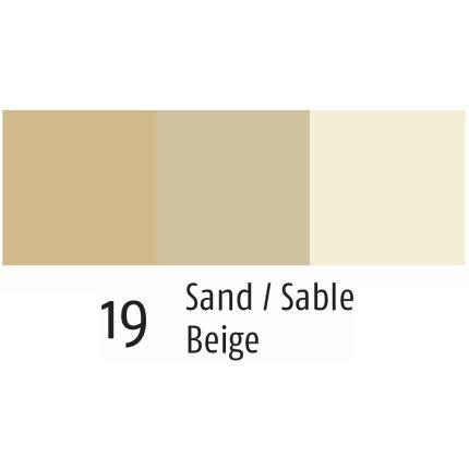 Husa perna Sander Prints Nova Scotia 50x50cm, 19 beige