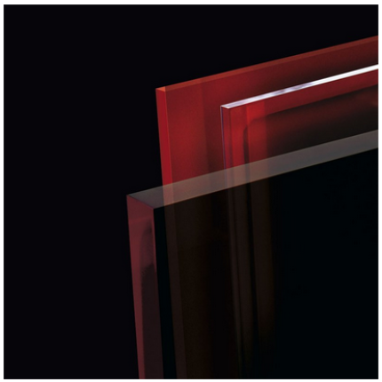 Set Ecosun GR 700 panou radiant din sticla cu termostat wireless cu telecomanda, 1100x600x12