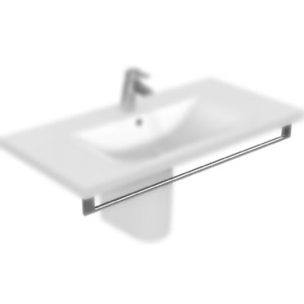 Port-Prosop Ideal Standard Connect Vanity 100cm cu fixare frontala, Chrome