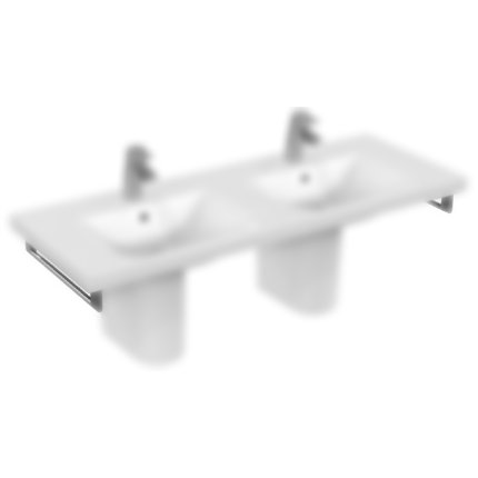 Port-Prosop Ideal Standard Connect Vanity 45cm cu fixare laterala, Chrome