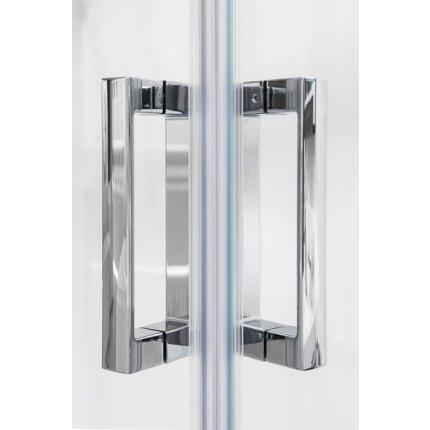 Usa culisanta cu parte fixa Ravak Concept 10° 10RV2K-90, 90cm, alb