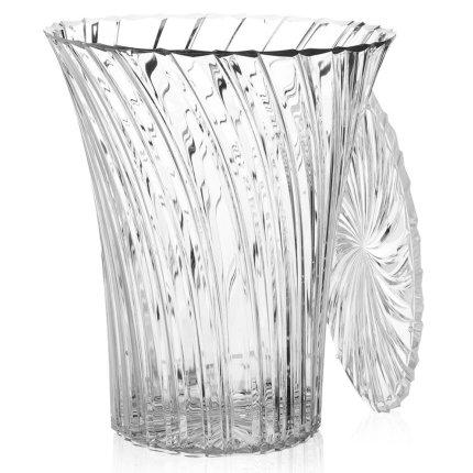 Masuta Kartell Sparkle design Tokujin Yoshioka, diametru 38cm, transparent
