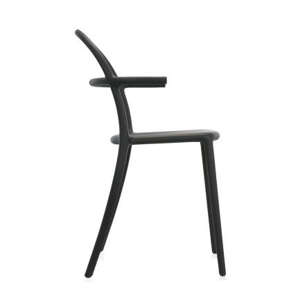 Scaun Kartell Generic C design Philippe Stark, negru mat