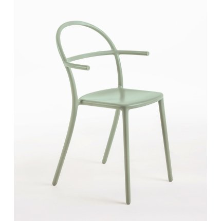 Scaun Kartell Generic C design Philippe Stark, verde mat
