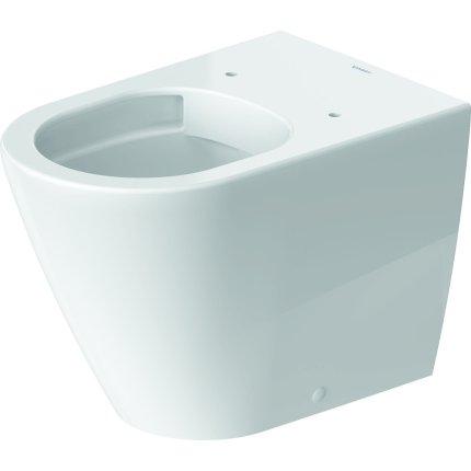 Vas wc Duravit D-Neo Rimless HygieneGlaze 37x58cm, back-to-wall, pentru rezervor ingropat