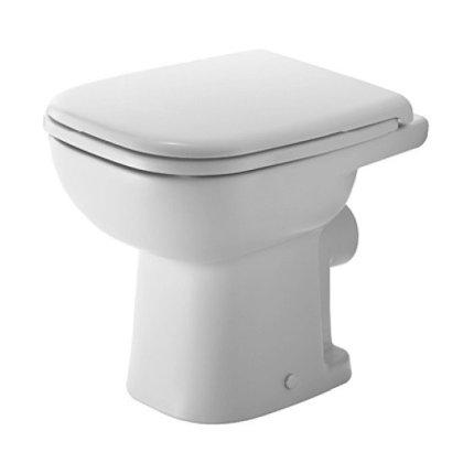 Set vas WC Duravit D-Code pentru rezervor la semi-inaltime si capac simplu