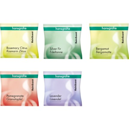 Set wellness Hansgrohe 5 tablete Mix