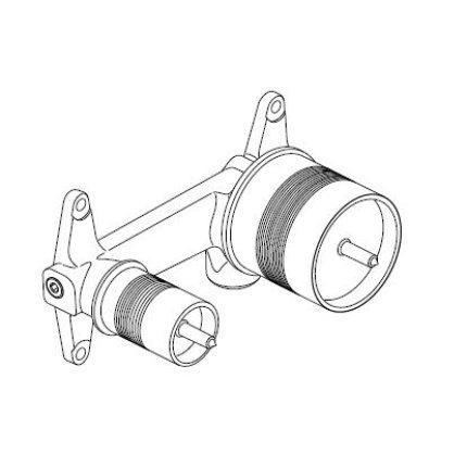 Corp incastrat Ideal Standard pentru baterie lavoar cu montaj pe perete
