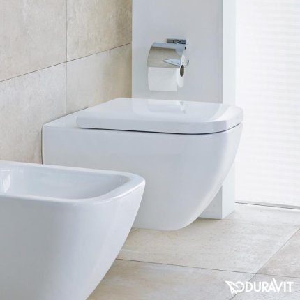 Vas WC suspendat Duravit Happy D.2 Rimless Hygiene Glaze