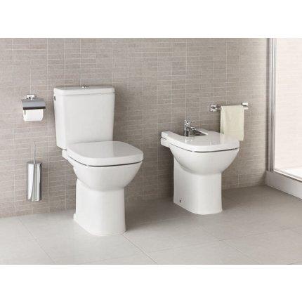 Set complet vas WC Roca Debba cu rezervor asezat si capac inchidere lenta