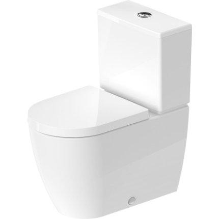 Vas WC Duravit Me By Starck back-to-wall, 37x65cm, pentru rezervor asezat