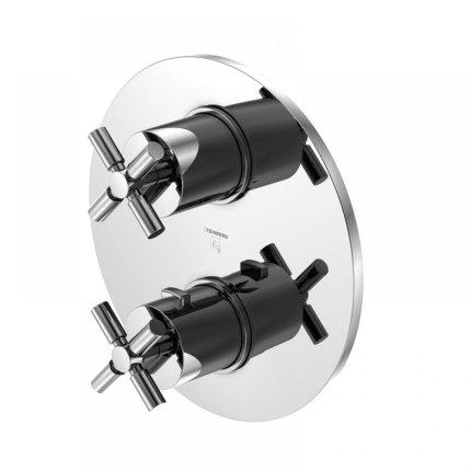 Baterie dus termostatata Steinberg Timelessness seria 250, montaj incastrat, corp incastrat inclus