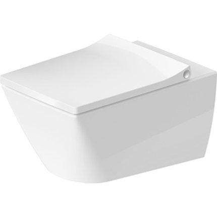 Vas WC suspendat Duravit Viu Rimless Hygiene Glaze