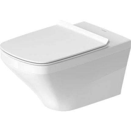 Vas WC suspendat Duravit Durastyle Rimless 62x37cm cu finisaj WonderGliss