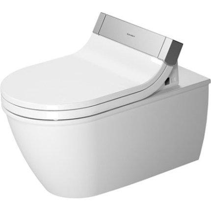 Vas WC suspendat Duravit Darling New pentru capac cu functie de bideu SensoWash