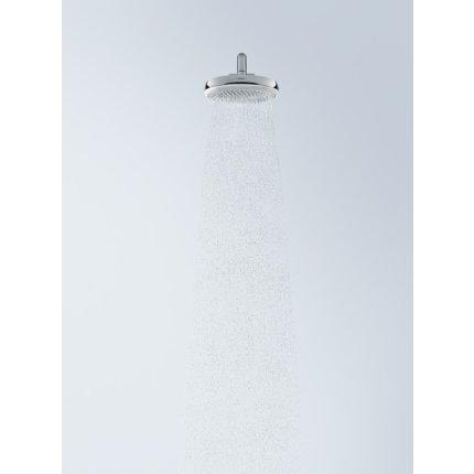 Palarie de dus Hansgrohe Crometta 160 cu 1 jet, 18cm, alb-crom