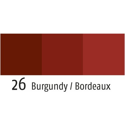 Fata de masa rotunda Sander Basics Loft d150cm, protectie anti-pata, 26 rosu burgund