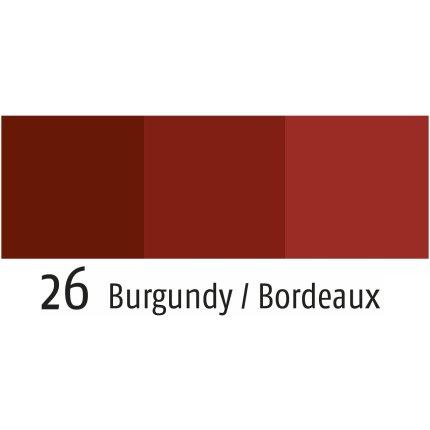 Servet Sander Jacquards Cutlery 47x47cm, 26 rosu burgund