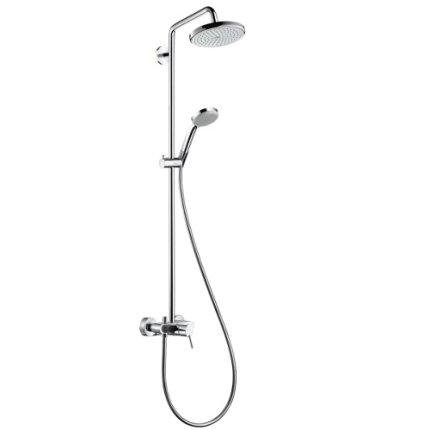 Showerpipe Hansgrohe Croma 220 chrome