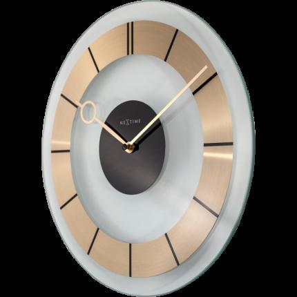 Ceas de perete NeXtime Retro Gold 31cm