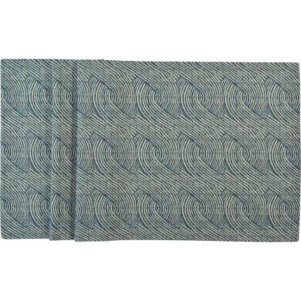 Fata de masa Sander Prints Lir 150x250cm, 4 albastru navy