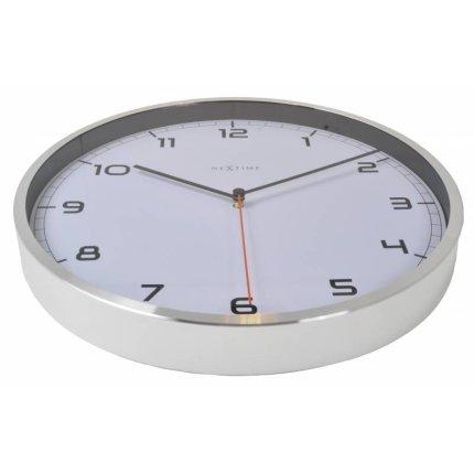 Ceas de perete NeXtime Company 35cm alb