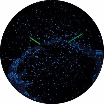 Ceas de perete NeXtime Milky Way Dome 35cm