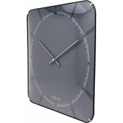 Ceas de perete NeXtime Michael Dome Gray 35x35cm