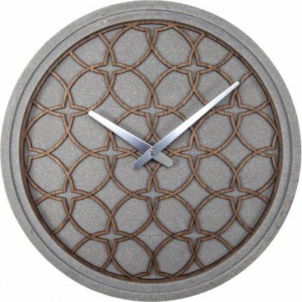 Ceas de perete NeXtime Concreto Love Grey 39.5cm