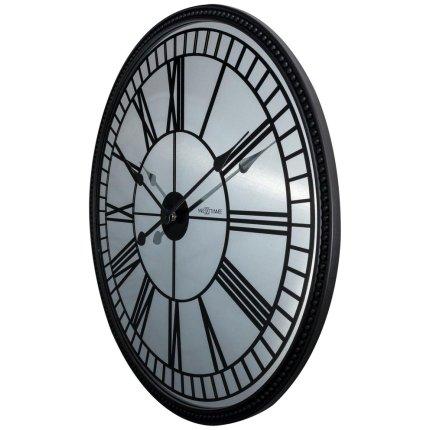 Ceas de masa NeXtime Cleopatra Mirror 56cm, negru